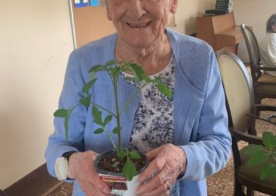 Planting Activity at Barrie Retirement Home