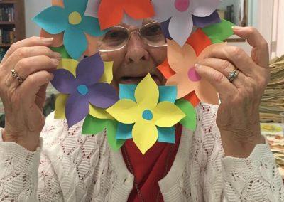 Belleville Retirement Home Crafts Activities