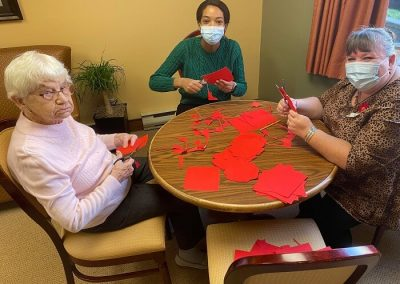 Belleville Retirement Home Activities - Remembrance Day