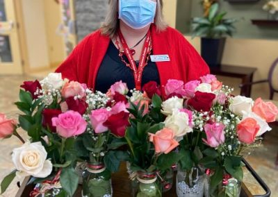 Day Roses for Residents