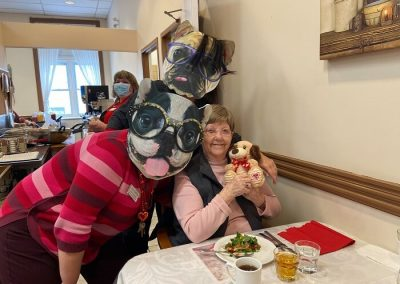 Valentine's Day Celebration at Belleville Retirement Home