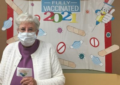 Recognition - Fully Vaccinated at Belleville Retirement Home