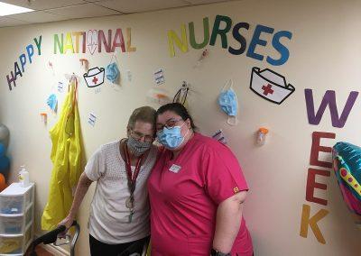 Nurses Week 2021 Recognition Ceremony at Belleville Retirement Home