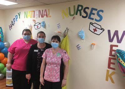 Recognition - Nurses Week 2021 at Belleville Retirement Home