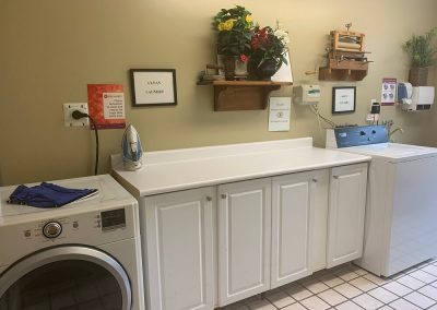 Laundry Area of Pickering Retirement Home