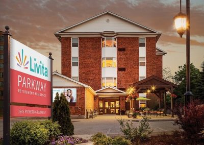 Livita Parkway Retirement Residence in Pickering, ON