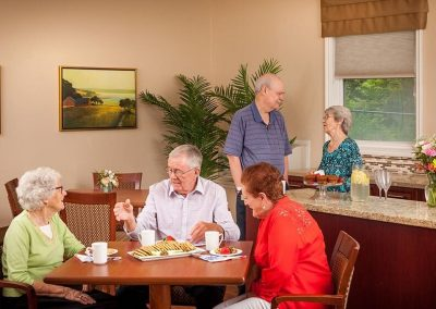 Breakfast Time at Pickering Retirement Home