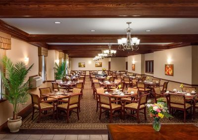Pickering Retirement Home Dining Room