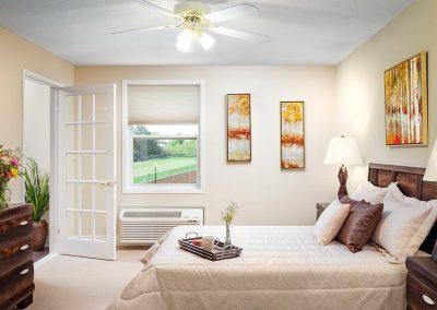Pickering Retirement Home Bedroom