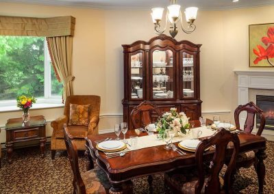 Private Dining of Pickering Retirement Home