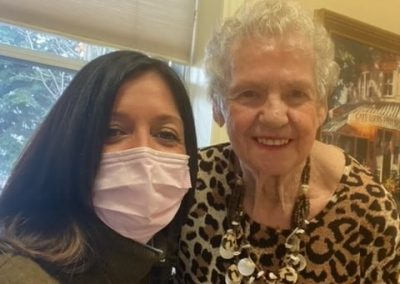 Margie & Joy at Barrie Retirement Home